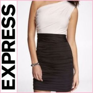 NEW Express One Shoulder Dress